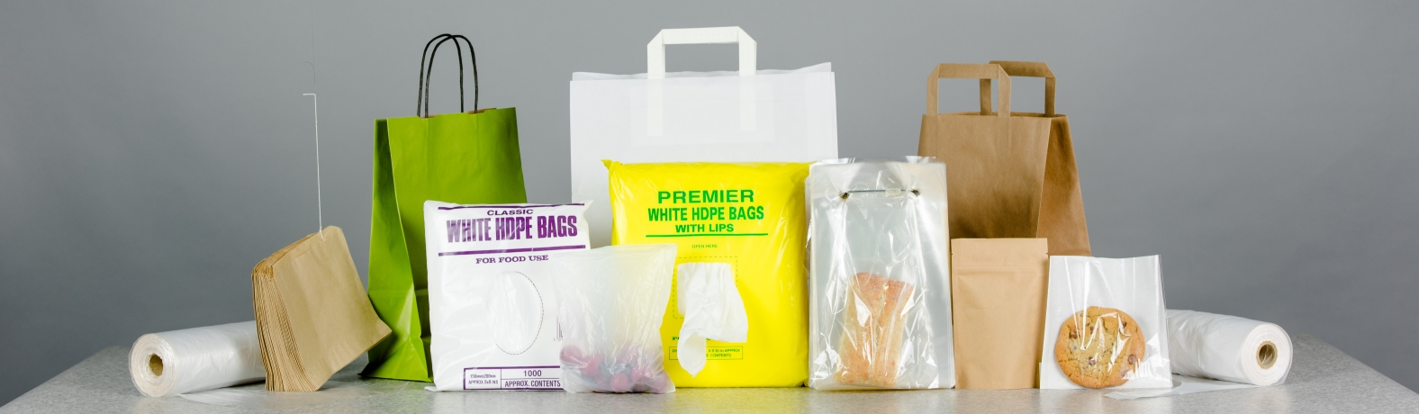Produce and paper bags